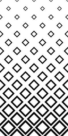 Seamless monochrome square pattern background