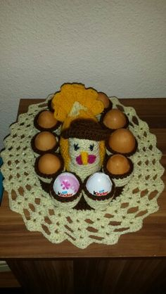 Găină ornament pentru oua!
