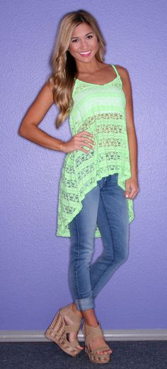 Saturday Night Neon Lime | $24.00