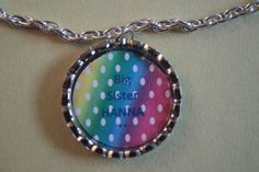 Polka Dot BIG SISTER NECKLACE Personalized by LifeBeautifulJourney, $15.50