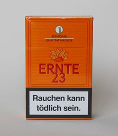 "I bought it at Frankfurt in Feb. Marketed by Reemtsma's, a subsidiary of Imperial Tabacco. In the early in concern with a smoking, the name should be needed to like this brand of cigarettes as a warning to ""end with"