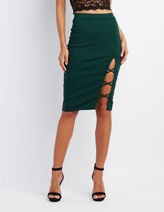 3e5831de6 #CRItsOn Cute Crop Tops, Skirt Fashion, Boho Fashion, Skirt Outfits,  Charlotte. Charlotte Russe