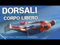DORSALI ALLENAMENTO A CASA / CORPO LIBERO - YouTube