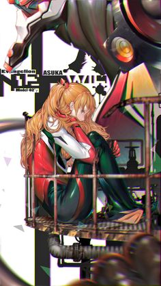 ★ niz   Ⅱ ☆ ⊳ asuka (evangelion) ✔ republished w/permission