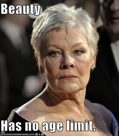 "I found this picture from a blog that helps explain Sonnet 73 very well. Shakespeare is speaking to the youth, complimenting him for seeing the ""twilight"" in him as he continues to grow old. The beauty in which the youth beholds, amidst Shakespeare's aging body, makes their love strong. I thought Dame Judi Dench represents this theme very well as she has actually played many roles in Shakespeare's plays. - Tyler Boone"