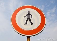 Download Prohibition Of Pedestrians Royalty Free Stock Photography for free or as low as 4.21 Kč. New users enjoy 60% OFF. 23,483,409 high-resolution stock photos and vector illustrations. Image: 39927227