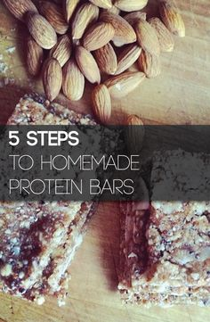Follow these 5 steps and you will be making your own homemade and customized protein bars in no time!
