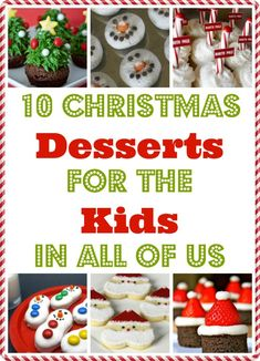 10 Christmas Cookies Recipes, Desserts for the Kid in ALL of Us. Ultimate Holiday Cookie Recipe Exchange | The Jenny Evolution