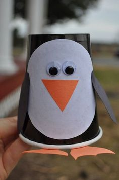Paper Cup Penguin Craft Animal Crafts Ideas Of Paper Plate Penguin Crafts Preschoolers. Paper Cup Penguin Craft Animal Crafts Ideas Of Paper Plate Penguin Crafts Preschoolers. Kids Crafts, Winter Crafts For Kids, Winter Fun, Toddler Crafts, Projects For Kids, Art For Kids, Bear Crafts, Coffee Cup Crafts, Paper Cup Crafts