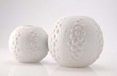 Jarrones porcelana, alemania años 60.