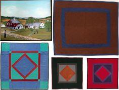 amish quilt | ... Amish centre square quilt , Amish quilt, Lancaster county , Amish