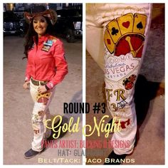 Love Fallon Taylor's style! Round 3 NFR!