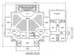 Small Church Building Plans   Church Plan #129   LTH Steel Structures