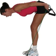 Total Body Resistance Band Workout-Great Exercises You Can Do Anywhere!: Triceps Kickbacks