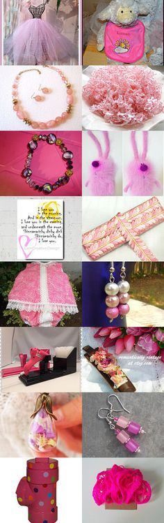 In the Pink !! by minnetta heidbrink on Etsy--Pinned with TreasuryPin.com
