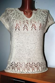 Вязание-спицы-ТОПЫ и кофточки с коротким рукавом . Обсуждение на LiveInternet…