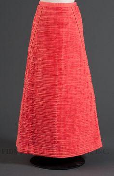 Vintage pleated linen skirt Sybil Connolly