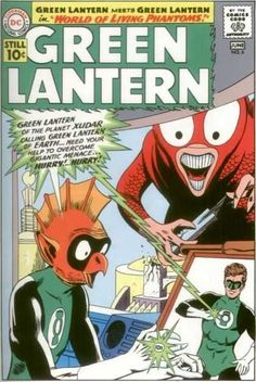 Green Lantern #4 Hal Jordan Alan Scott Gay Superhero DC Comics US Stamps MINT!