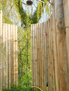 DIY Gartendusche: Wasseranschluss installieren