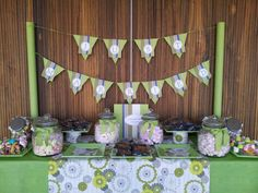¡Mesa dulce para una boda!