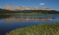 Brooks Lake Wyoming ... looks like a great sky watching spot.