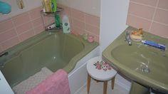 34 Best Avocado Bathroom Images Bathroom Bathroom Colors Laundry - Avocado-green-bathroom-tile