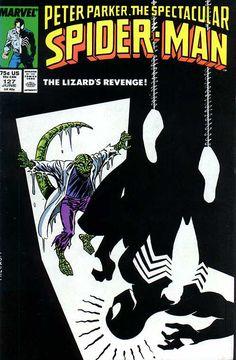 Peter Parker, The Spectacular Spider-Man # 127 by Al Milgrom