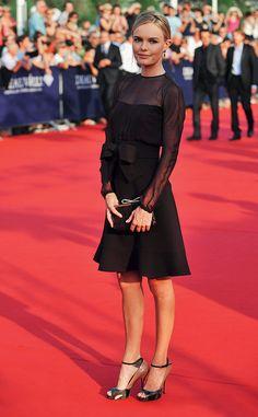 Cómo ponerte el vestidito negro en versión low cost.  Kate Bosworth