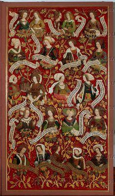 Babenberg Family Tree triptych by Hans Medieval World, Medieval Art, Medieval Fantasy, Renaissance Art, 15th Century Clothing, 16th Century Fashion, Medieval Manuscript, Illuminated Manuscript, Empire Romain
