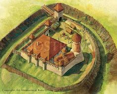 Targoviste during the time of Vlad lll.
