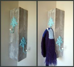 Corner Coat Rack. . .$45 on etsy seems a little high. . .but I might make this a DIY project!