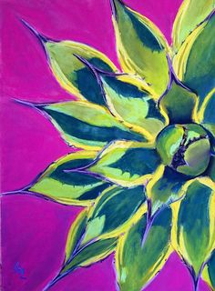 """""""Cream Spike Star"""" Original Pastel Painting For Sale © Anna Lisa Leal - Art in Progress: Cream Spike Star Indian Art Paintings, Paintings For Sale, Chalk Pastels, Oil Pastels, Acrylic Painting For Beginners, Watercolor Projects, Floral Drawing, Tropical Art, American Indian Art"""