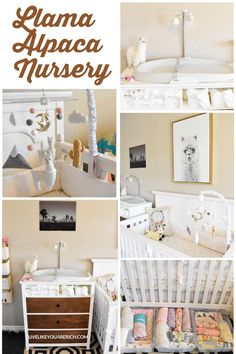 I love Llamas and Alpacas. I am actually happy that they are on-trend right now as I was able to put this Baby Girl Llama Alpaca Nursery together very easily! Llama Alpaca, Nursery Room, Baby, Furniture, Design, Home Decor, Kidsroom, Babies, Interior Design