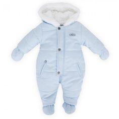 Absorba Baby Blue Fleece Snowsuit hihi nice