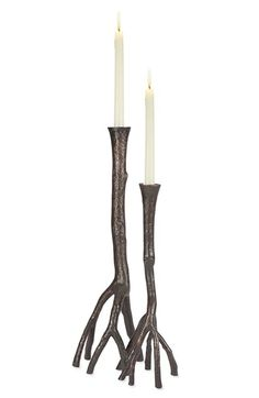 Michael Aram 'Enchanted Forest' Candle Holders (Set of 2) available at #Nordstrom