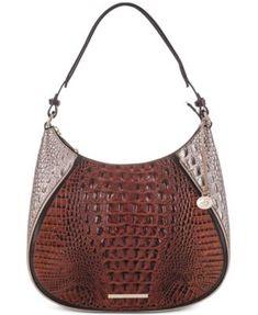 7f534fd246a7 Brahmin Amira Pecan Antonia Medium Shoulder Bag Handbags   Accessories -  Macy s