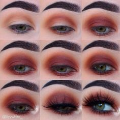 ������������������ . . By @lilyywhite_ - ������one last step by step with the ABH Modern Renaissance palette - you can never go wrong with a warm smokey eye… #CastorOilEyelashes
