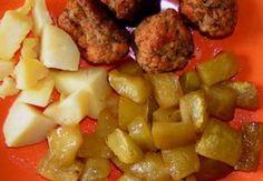 Cuketa  na medu Cauliflower Vegetable, Potato Salad, Fries, Potatoes, Meat, Chicken, Vegetables, Ethnic Recipes, Food