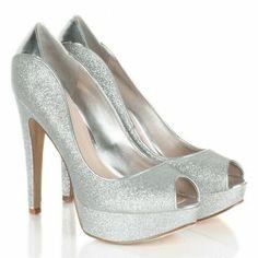 Guess Sliver GW Ashner Women's Peep Toe Shoe