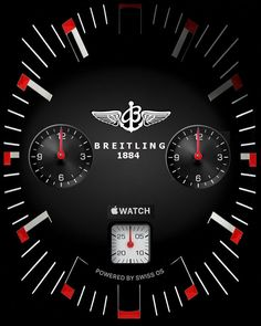 Apple Watch Face - Breitling . chrono