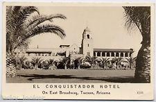 EL CONQUISTADOR HOTEL Tucson AZ - c1950 Photo POSTCARD Arizona