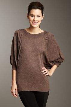 Wow Couture Peasant Sweater by Tops Under $20 on @HauteLook