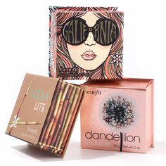 Benefit GALifornia, Hoola Lite and Dadelion Twinkle Boxed Powders
