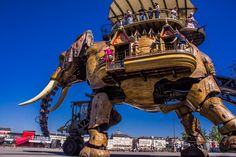 Les Machines De L'Ile: A Must-See In Nantes, France   The Travel Tester