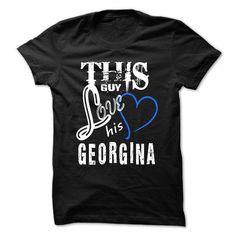 This Girl Love Georgina - Cool T-Shirt !!! - #birthday shirt #tee aufbewahrung. This Girl Love Georgina - Cool T-Shirt !!!, pink sweatshirt,floral sweatshirt. HURRY =>...