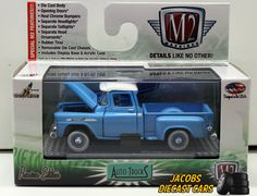 1:64 M2 MACHINES AUTO TRUCKS RELEASE 34 - 1959 CHEVROLET APACHE STEPSIDE NIB #M2Machines #Chevrolet