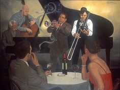 Jim Burke American Artist ~ Blog of an Art Admirer