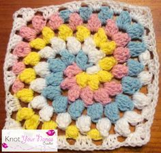 Knot Your Nana's Crochet: Granny Square CAL (week 15)