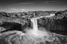 Waterfall Aldeyjarfoss - northern Iceland   Flickr - Photo Sharing!