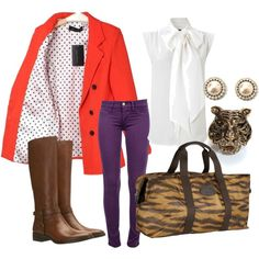 Gameday Fashion for Her - Clemson Fall Gameday Outfit & Accessories